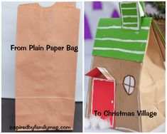 DIY paper village
