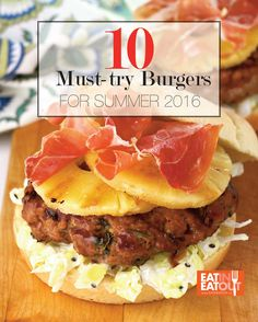 10 Must-try Burgers