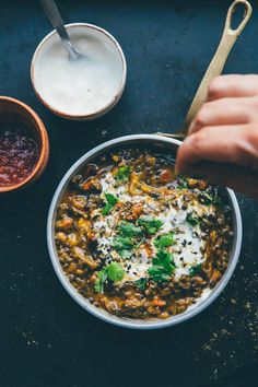 Lentil Chili with Pumpkin //
