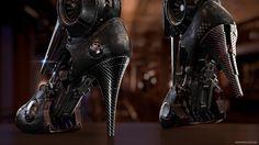Artemis -Cybernetic Organism- by Sengjoon Song   Robotic/Cyborg   3D   CGSociety