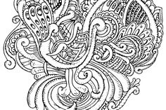 Abstract Zentangle Art Free Coloring Page In Png Pdf Vector Format Mandala Coloring Pages, Free Coloring Pages, Vector Format, Zentangle, Abstract, Pdf, Free Colouring Pages, Zentangles, Zen Tangles