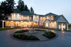Exterior of 'Infinity' - traditional - exterior - portland - dC Fine Homes & Interiors