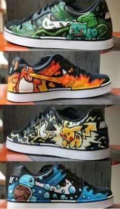 o_O pokemon shoes
