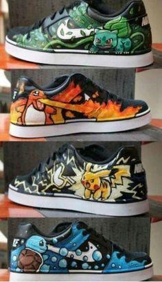 o_O pokemon shoes