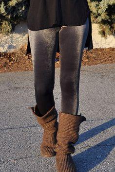 Κολάν βελούδινο γκρι Leg Warmers, Legs, Fashion, Leg Warmers Outfit, Moda, La Mode, Fasion, Fashion Models, Trendy Fashion