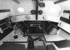 The modified cabin and raised deck on LEGOLAS provided more spacious accommodations than the standard Longboat Cruiser. Raised Deck, Cruise Boat, Diy Boat, Legolas, Small Boats, Boat Building, Magazine, Boating, Archive