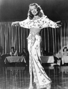 "Rita Hayworth in ""Gilda"". Costume design by Jean Louis."