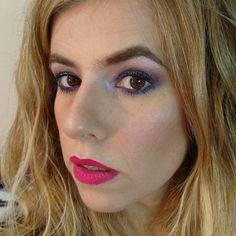 Prueba de #makeup para noche. #makeupartist #makeupjunkie #smokey #eyes #look #blue #nofilter #instapic #instalike #intagram #photo #picoftheday