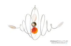 Artwork n.20 - Size: 32x20 cm - Materials: Stainless steel and gems.   Opera n°20 - Dimensioni: 32x20cm - Materiali: Acciaio inossidabile e pietre.   http://www.pendantsculpture.eu