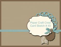 Paper Craft Crew Sketch Challenge 41