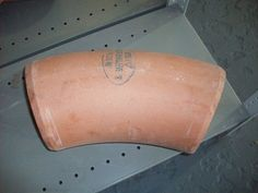 """45 Degree bend   6"""" naylor 45 degree bend clay 3.00 http://recipro-uk.com #free building materials"""