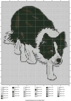 Scottish dog x-stitch