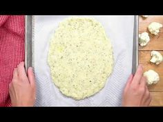 This is simply the best cauliflower pizza crust out there (it has been pinned 1 Million+ times! This NO-FAIL recipe is made using frozen riced cauliflower! Best Cauliflower Pizza Crust, Cauliflower Recipes, Riced Cauliflower, Paleo Pizza, Roasted Cauliflower, Low Carb Recipes, Vegetarian Recipes, Cooking Recipes, Healthy Recipes