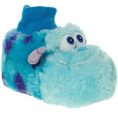 Blue monsters inc sully slippers