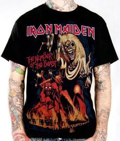 Iron Maiden, T-Shirt, Number Of The Beast