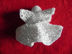 Hand Crocheted 5 inch Angel by rustycupboard on Etsy