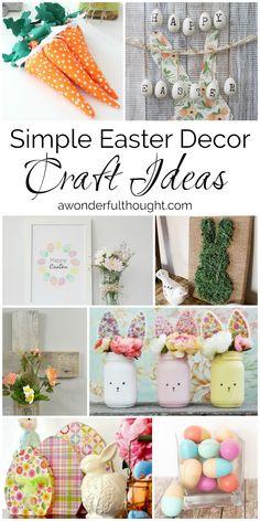 15 Simple Easter Dec
