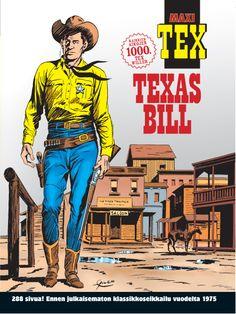 Maxi-Tex: Texas Bill. Kaikkien aikojen 1000. Tex Willer. #egmont #sarjakuva #sarjis