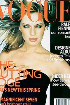 Fashion Magazine Covers - Online Archive for Women (Vogue.com UK) FEBRUARY 1997