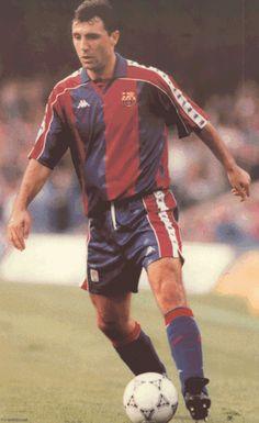 Former Barca player and Balon d'Or winner - Hristo Stoichkov