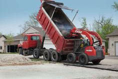 CASE Releases Limited Edition Red Skid Steer and Compact Track Loader Line in Honor of 175th Anniversary #heavyequipment #construction