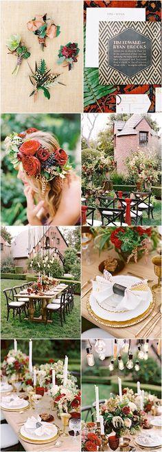 wedding color idea; photo: Marisa Holmes Photography