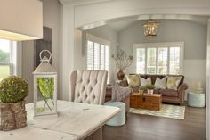 Casual Dining Room and Hearth Room with Cathedral Ceilings by 3 Pillar Homes