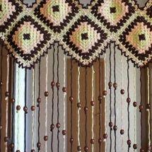 Crochet Curtain Patterns Part 11 - Beautiful Crochet Patterns and Knitting Patterns Crochet Curtain Pattern, Crochet Curtains, Curtain Patterns, Valance Curtains, Valances, Knitting Patterns, Crochet Patterns, Beautiful Crochet, Crochet Crafts