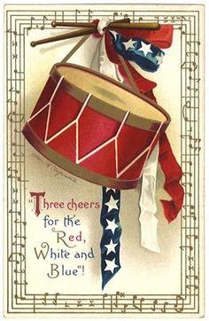Image detail for -Free Patriotic Vintage American Flag Clip Art Vintage Cards, Vintage Postcards, Vintage Images, Vintage Clip, Vintage Ephemera, Vintage Stuff, American Flag Clip Art, American Pride, American Spirit