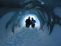 Ice Cave & Ice Climbing in #Iceland | Full article at http://thegirlandglobe.com/ice-climbing-iceland/ | #sightDOING #Reykjavik #Europe #Travel