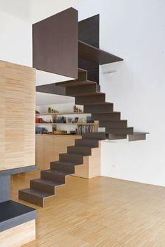 Idee scale sospese - metallo di basso spessore per un originale effetto visivo