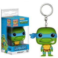 Teenage Mutant Ninja Turtles Pocket POP Leonardo Keychain