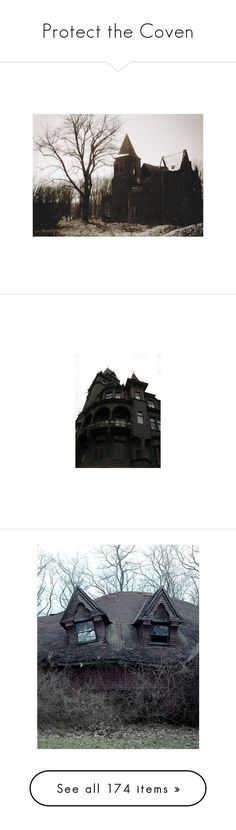 """""""Protect the Coven"""" by yaja-diego ❤ liked on Polyvore featuring dolls, magic, americanhorrorstory, ahs, backgrounds, pictures, images, building, photos and filler"""