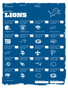 photograph about Detroit Lions Printable Schedule named 32 Great 2014 NFL Schedules photographs 32 nfl groups, Nfl, Nfl