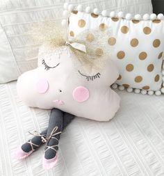 Miss Angel Ilaria Cloud Pillow Ballerina Miss Ava, Children's Decor, Kids Decor, Kids Rooms, Nursery, Home Decor, Homewares, Interior, Homewares Online