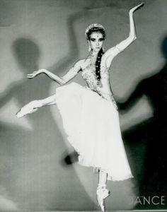"Sylvie Guillem, Nikiya ""La Bayadère,"" The Royal Ballet Ballet Poses, Ballet Art, Ballet Dancers, Royal Ballet, Shall We Dance, Just Dance, Alvin Ailey, Body Painting, La Bayadere"