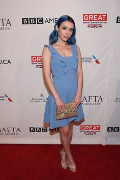 Hannah Marks - Ranking the Least to Most Appropriate Tea Party Outfits from the BAFTA Tea Party - Photos
