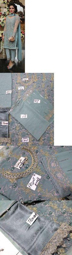 Salwar Kameez 155249: Pakistani Designer Maria B Zainub Chottani Asim Jofa Inspire Kameez Eid -> BUY IT NOW ONLY: $115.5 on eBay!