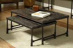 William Sheppee Saal Nested Coffee Table (Set of 2)
