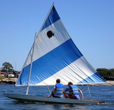 """Sunfish"" we use to sail in this class of boat on Packanack Lake, NJ back in late 50's thru mid 60's."
