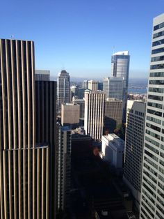 Starbucks in the sky! Get a drink and take in the view from the Starbucks on the 40th Floor of the Columbia Tower.