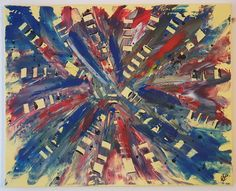 """""""Explosion"""" Painting, Business, Abstract, Canvas, Painting Art, Kunst, Paintings, Painted Canvas, Drawings"""