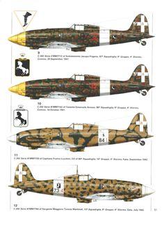 C 202 Serie III - Regia Aereonautica - 9° Gruppo, 4° Stormo