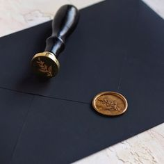 Stamptitude   Foliage Wax Seal Stamp #stationery #details