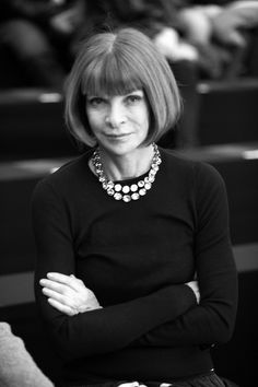 Sit down and talk about the Fashion Industry with Vogue Magazines, Anna Wintour. Number Four