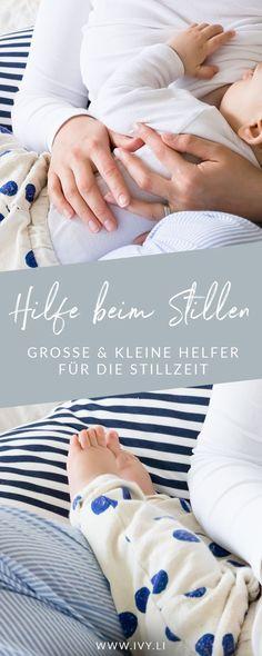 Große und kleine Helfer für die Stillzeit | Was kann einem beim Stillen helfen und unterstützen? | Stillhelfer | Tipps & Tricks | Ausstattung | Baby | Neugeborenes | Säugling | Mutterschaft | Breastfeeding | Muttermilch | Stillkissen | Still-BH | Stilleinlagen | Wunde Brustwarzen | Milchstau | ivy.li