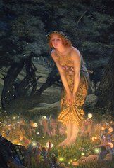 Fantasy Featured Images - Midsummer Eve  by Edward Robert Hughes