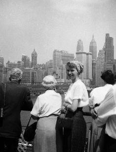 Sylvia Plath, 1957