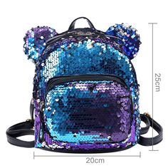 The Mouse Sequin Mini Backpack