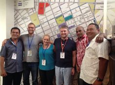 YFC Pacific Island Directors, & with YFC QLD area director at YFC Australia National gathering 2015